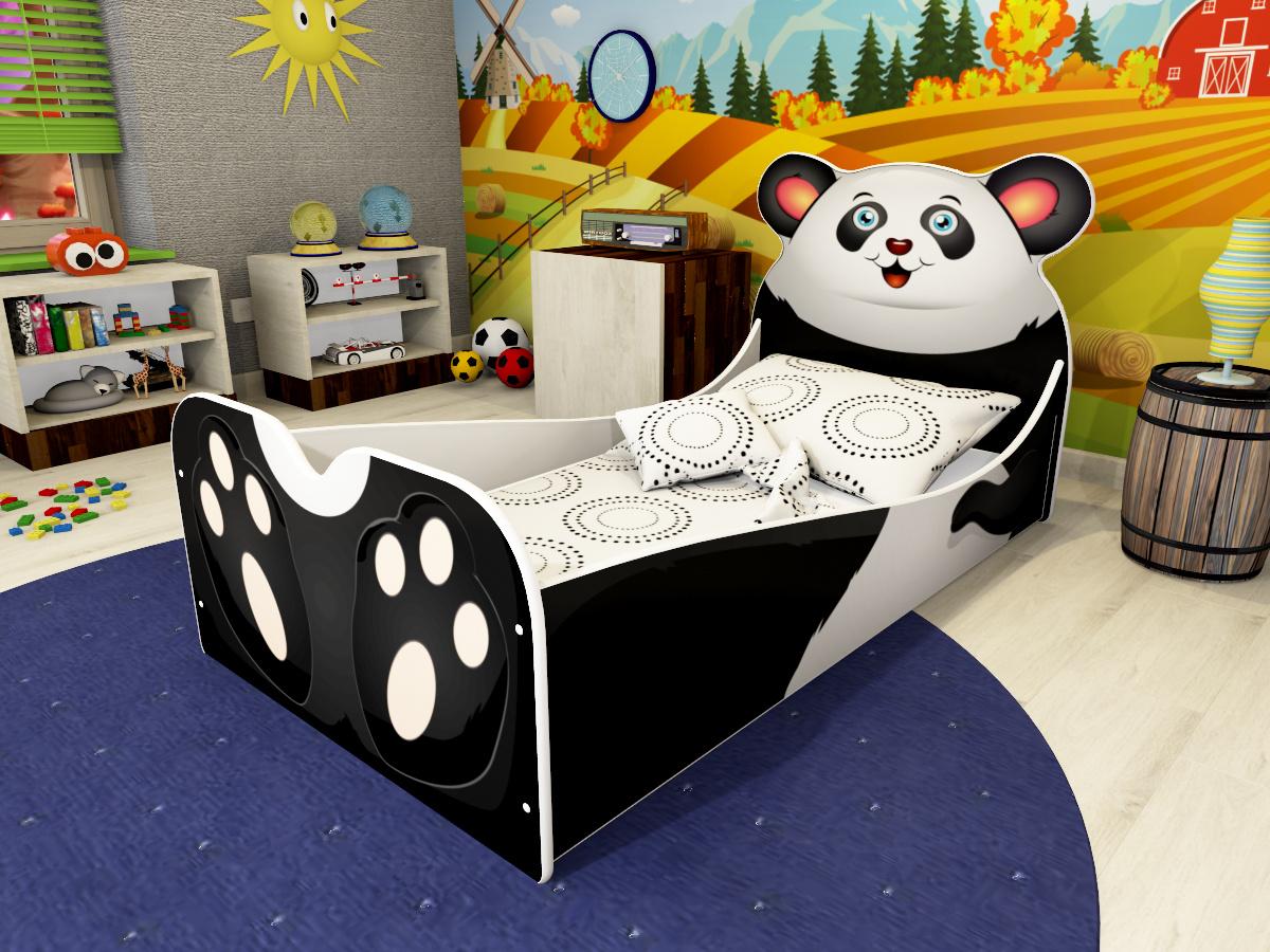 lozko panda wizka