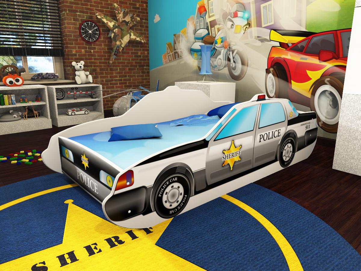 lozko policja wizka
